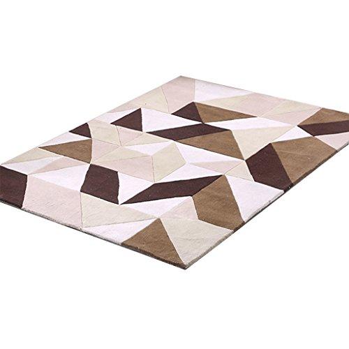 CYALZ Acryl Grau Weiß Braun Modern Simple Style Home Textilien Türsprechanlage Badezimmer Küche...