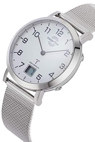 Master Time Funk Quarz Damen Uhr Analog-Digital mit Edelstahl Armband MTLS-10659-90M - 2
