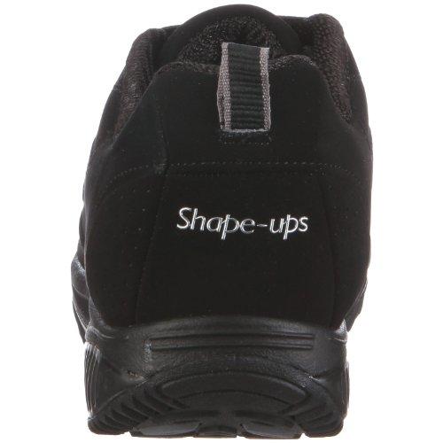 Skechers Shape-ups XF Energy Blast 12321 BKN, Sneaker, Donna Nero (Schwarz/BKN)