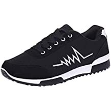 Zapatillas Deportivas Cuna Mujer Casuales,Mujeres Corriendo Zapatillas Deportivas Ligeros Zapatillas Deportivas Casuales Zapatos de