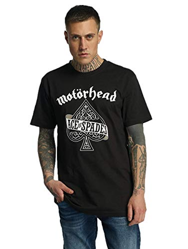 MERCHCODE Herren Motörhead Ace of Spades Tee T-Shirt, Black, XXXXL -