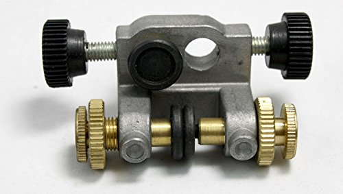 Ersatzteil Set/Baugruppe für Bandsägemaschinen, Dreirollenführung, vormontiert, für oben, geeignet für Metabo BAS 250 G, benötigt zur Sägebandführung, Alternativhalterung, Zusatzbohrung erforderlich