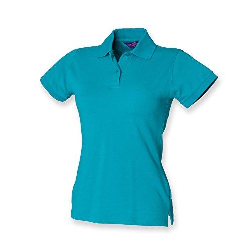 Henbury - Polo -  - Polo - Col polo - Manches courtes Femme Vert - Jade