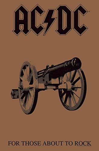 AC/DC Poster for Those About to Rock Nue offiziell Textile Flag 70cm x 106cm - Dc Poster Flag