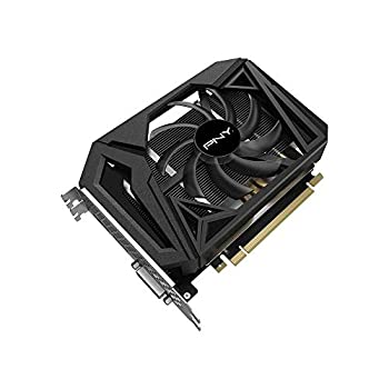 PNY GeForce GTX 1660 Super 6GB SINGLE Fan Graphic Card ,Black,VCG16606SSFPPB