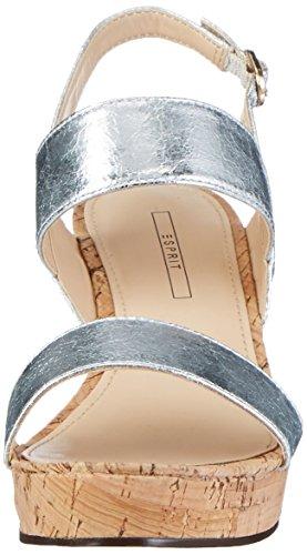 ESPRIT - Gessie Sandal, Sandali Donna Grigio (090 Silver)