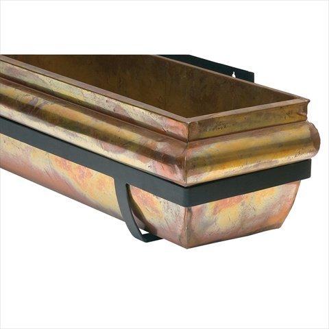 Unbekannt H Potter Rustikal Kupfer Window Box Garden Decor Flower Übertopf 30 inch Rustic Copper