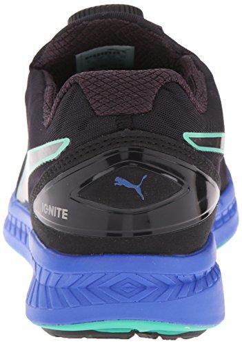 Puma Ignite Disc Synthétique Chaussure de Course black-pumasilver-dzlingblue