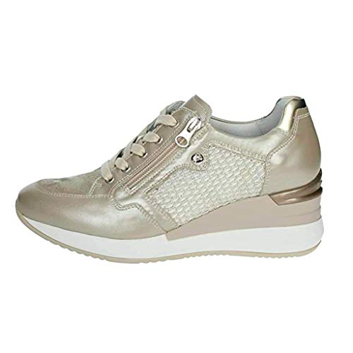 Nero giardini p907521d sneakers donna platino 38