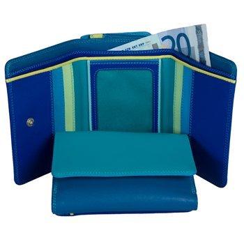 mywalit-medium-tri-fold-monedero-piel-11-cm-azul-measurements-width-11cm-height-8cm-weight-96g