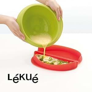 Maker Moule à omelette au micro-ondes Lékué Rouge - Alinea .