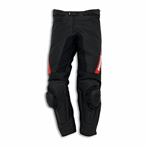 Ducati Dainese Lederhose Spot C2 schwarz Größe 52 (Powersport Spot)