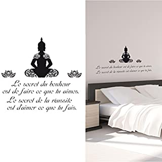 Sticker citation Bouddha