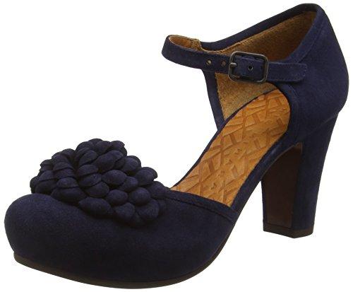 Chie MiharaKali - Scarpe con cinturino alla caviglia donna, Blu (Ante Nuit), 36 EU (3 UK)
