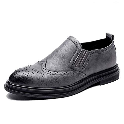Herren Schuhe Brogue Leder Bequeme Plattform Schuhe Oxford Kleid Schuhe städtischen ()