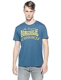 Lonsdale Herren Langarmshirt T Shirt Trägerhemd Martock