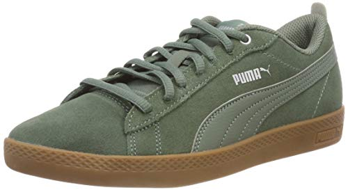Puma Damen Smash WNS v2 SD Sneaker, Grau (Laurel Wreath-Laurel Wreath 04), 39 EU - Und Grau Sneakers Grün