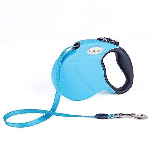 - Einziehbare Hundeleine - Leine für Hunde mit Handgriff und Schalter für Kleine Mittlere Große Hunde 5M bis max. 50 kg ()