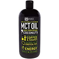 Sports Research, Mct Oil, Unflavored, 32 Fl Oz (946 Ml)