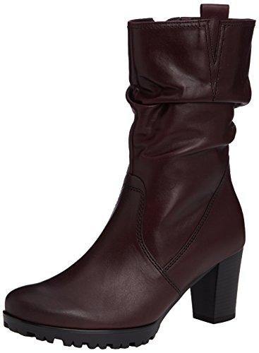 Gabor Taylor, Bottes Classiques Femme Rouge (dark Burgundy Leather)