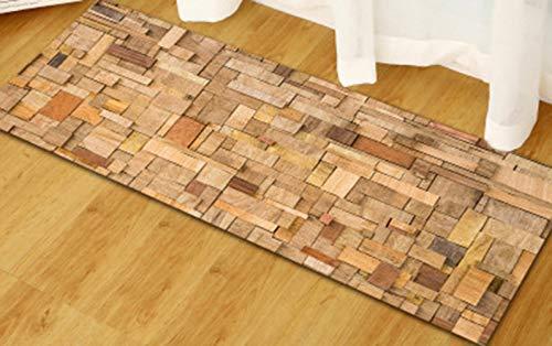 OMUUTR Teppich Rutschfeste Fußmatte Bodenmatte Bäume Design Wohnzimmer Teppiche Decor Multi Größe 40x120cm 60x90cm 60x180cm -