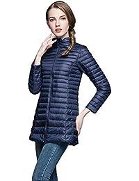 Queenshiny® Women Warm Light Ultra thin Down Coat