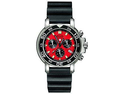CX Swiss Military Watch Navy Diver 500 Scuba 24681