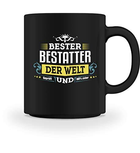 PlimPlom Bester Bestatter Kaffeetasse Arbeit Job Tasse Für Kaffee Tee Kakao Vatertag Geschenk Idee...