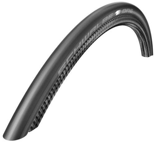 Schwalbe 11600514 One 700x23 Pneumatico da Bicicletta, Nero
