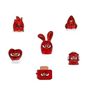 Hanazuki - Pack 6 Tesoros Feisty, Color Rojo (Hasbro B8444ES0)