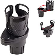 2 in 1 Multifunctional Car Cup Holder Extender Divided into Two Car Drink Cup Holder Size Adjustable Beverage