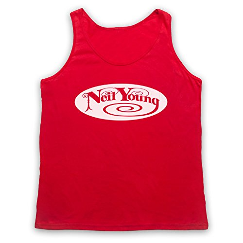 Inspired by Neil Young Logo Unofficial Tank Top Vest