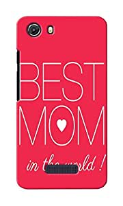 KnapCase Best Mom In World Designer 3D Printed Case Cover For Micromax Unite 3 Q372