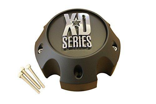 KMC XD Series 796 797 798 Matte Black 5 Lug Wheel Rim Center Cap 1079L145A by XD Series by KMC Wheels