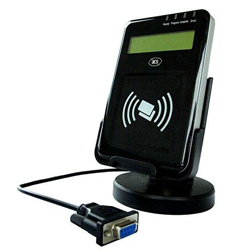 Rfid-reader Serielle (Luxtech ACR122L Visual Vantage Serielle NFC-Leser LCD Serielle Schnittstelle NFC Kontaktlose Reader-Support Sprache: Chinesisch, Englisch, Japanisch und einige europäische Sprachen)