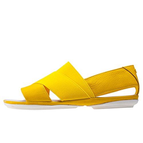 Camper Right K200142-007 Sandalen Damen Yellow
