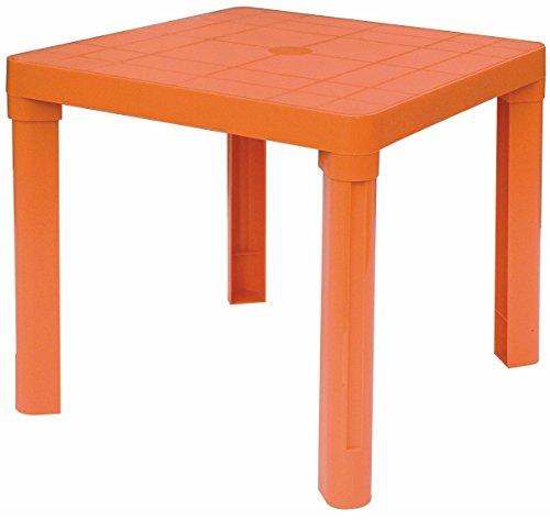 Tavolino basso in plastica colorato per bambini esterno/interno