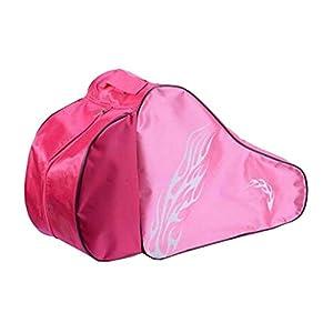 Black Temptation Skate Bag – Tasche, um Schlittschuhe, Rollschuhe, Inline Skates für Kinder/Erwachsene, B zu tragen