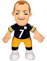 NFL Pittsburgh Steelers Ben Roethlisberger Plush Doll, Black, 10 by Bleacher Creatures