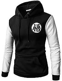 PIZZ ANNU Dragon Ball Sweaters Goku Sudadera Pullover Sudadera Classic  Dragonball 162864ee073