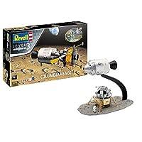 Revell RV03700 03700 Gift Set Apollo 11 Columbia & Eagle (1:96 Scale) Plastic Model kit, Various