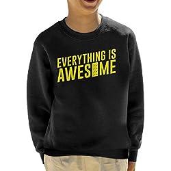 Everything Is Awesome Lego Movie Kid's Sweatshirt