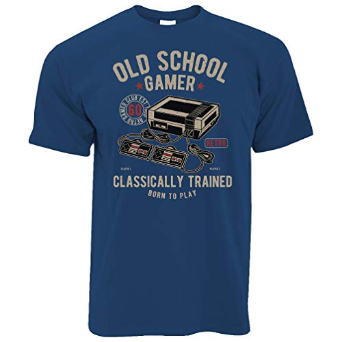 Tim and Ted Gaming T-Shirt Old School Gamer Retro...