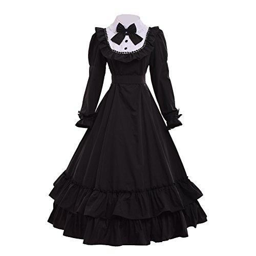 Reenactment Kostüm Bürgerkrieg - GRACEART Viktorianisches Ballkleid-Bürgerkrieg-Kleid (X-Large)
