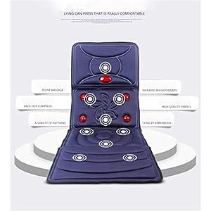 3D Stereoskopische Vibrierende Massagekissen, Hals Zurück Taille Hüfte Bein Massage Matratze Für Zuhause