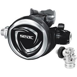 Seac Detendeur DX200 300 Bar DIN compensé à membrane reglable pour eaux froides Made in Italy