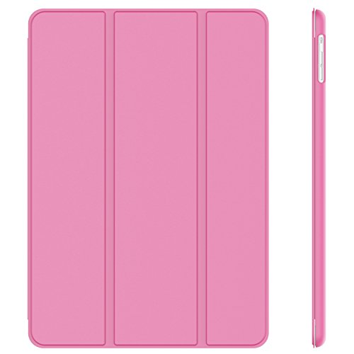 JETech® GOLD Slim Fit iPad Air Case–Smart Case Cover für New Apple iPad Air 5th Generation mit interne Magnet für die Sleep/Wake-Funktion–Pink Apple Ipad Air Gold