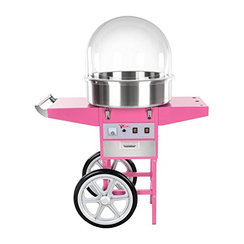 41h8Gjt1bdL. SS500  - Royal Catering - RCZC-1200E - Candy Floss Maker with Wagon - 1200 W - Cover Included