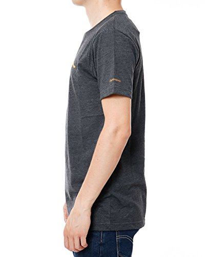Cleptomanicx GbR Möwe T-Shirt Heather / Black
