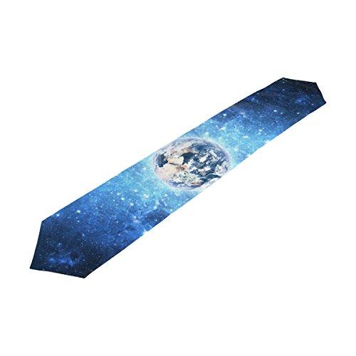 alaza Terre et Univers Galaxy Chemin de Table 13 x 70 Pouces Table Polyester Haut Décoration Home Décor